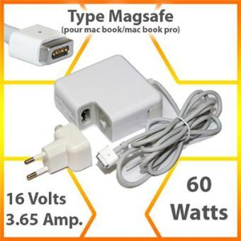 mp Chargeur d alimentation Adaptateur secteur COMPATIBLE APPLE MACBOOK BLANC  Pouces Embout Magsafe w
