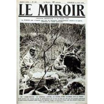Un casse croute du general joffre au cours d 39 une for Le miroir casse