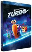 Turbo (Blu-ray 3D) - Combo Blu-ray 3D + Blu-ray + DVD - Édition boîtier SteelBook (Blu-Ray)