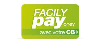 Paiement en 3x ou 4x sans frais par CB avec Facily Pay