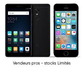 Smartphones à partir de 133€99