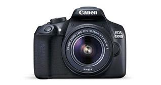 Reflex Canon EOS 1300D  + objectif + accessoires : -140€