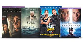 Films : 3 DVD = 20€ | 5 DVD = 30€
