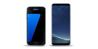 Smartphones Samsung jusqu'à 90€ offerts
