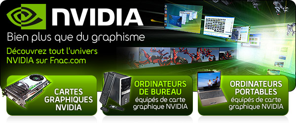 pc de bureau nvidia achat informatique fnac. Black Bedroom Furniture Sets. Home Design Ideas