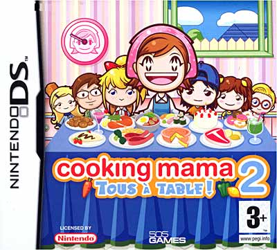 Cooking Mama 2 : Tous A Table ! DS