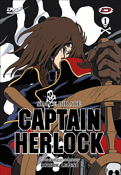 The Captain Herlock, The Endless Odyssey affiche
