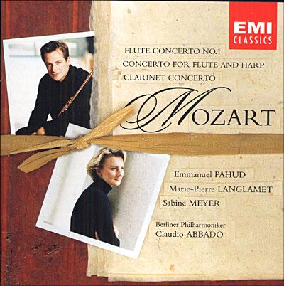 Mozart: concertos pour vents 0724355712820