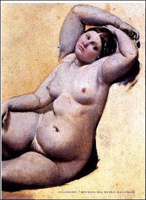 Ingres, un nouveau Picasso? en tout cas un érotomane 9782070112920