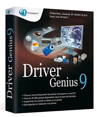driver genius professionnel+key