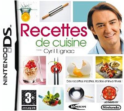 Bienvenue mes jeux ds avec cover for Cuisine ds