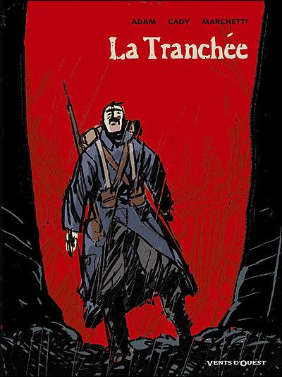 """couverture de """"La tranchée"""""""