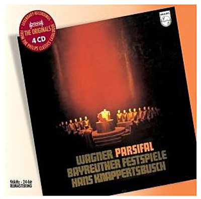 wagner - Wagner : Parsifal discographie sélective 0028947577850