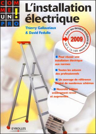 تحميل كتاب L'installation électrique 9782212125290