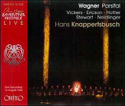 wagner - Wagner : Parsifal discographie sélective 4011790690421