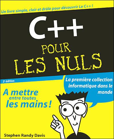 """BA2 informatique """"C++ pour les nuls"""" 9782844276421"""