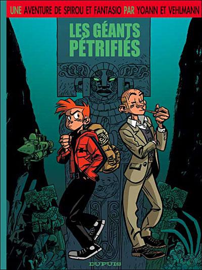 Couverture de Spirou : Les géants pétrifiés (HS)