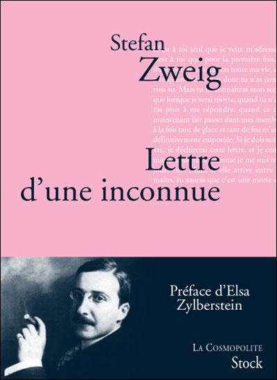 Lettre d'une inconnue de Stefan Zweig 9782234063112