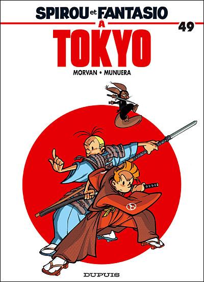 """Couverture de """"Spirou et Fantasio à Tokyo"""" tome 49"""