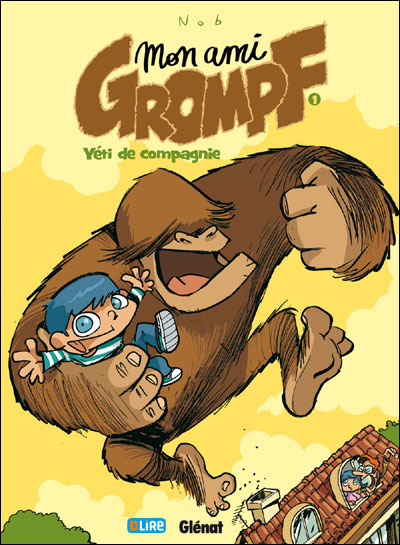 """Couverture de """"Mon ami Grompf"""""""