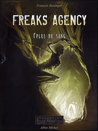 """Couverture de """"Freaks Agency"""" tome 2"""
