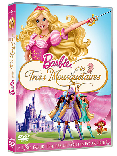 Barbie et les trois mousquetaires [FRENCH] [DVDRIP]