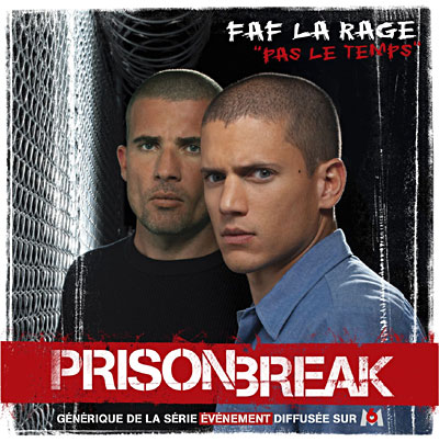 Faf La Rage - Pas le temps (Prison Break) 0828768980323