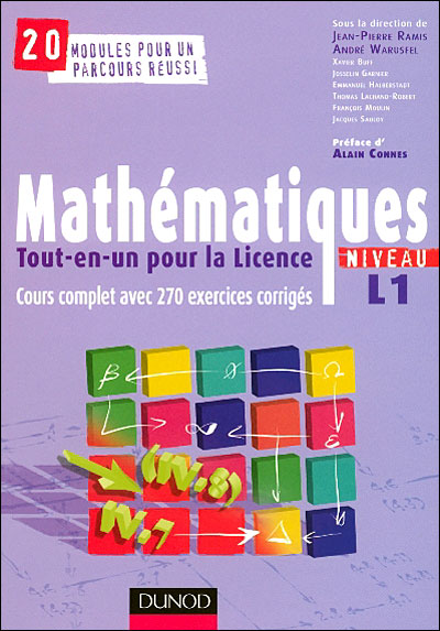 Mathématiques Tout en un pour la licence L1