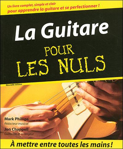 Livre guitare pour les nuls