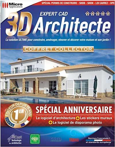 3d architecte expert cad fs for Architecte 3d 2010