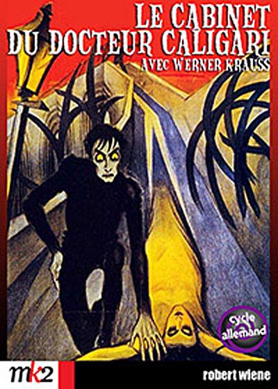 Le Cabinet du docteur Caligari affiche