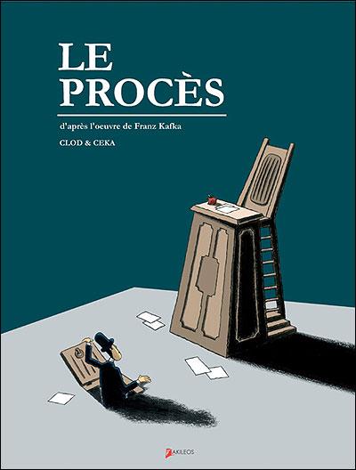 Couverture du Procès de Kafka