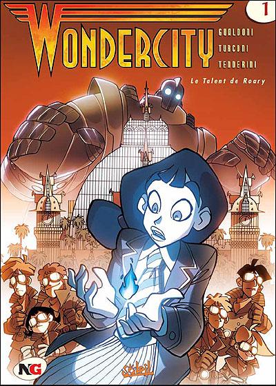 Couverture de Wondercity