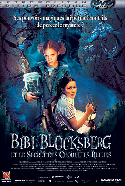 Bibi blocksberg et le secret des chouettes bleues affiche