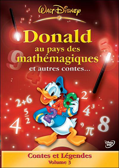 Donald au pays des mathémagiques affiche