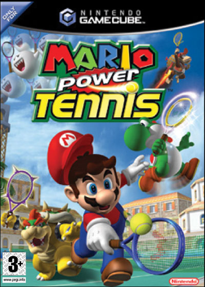 Mario Power Tennis ( A ne pas rater !!!) 0045496393304