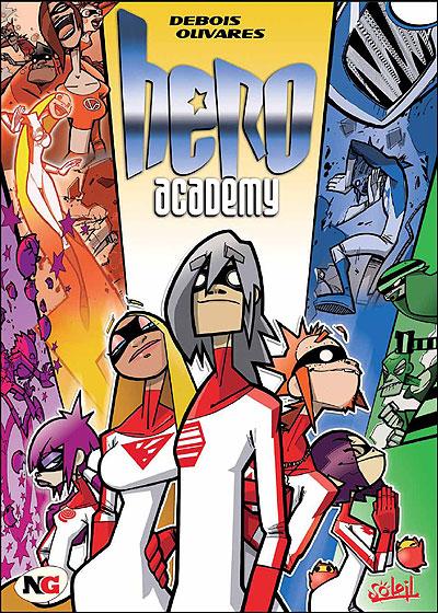 "Couverture de ""Hero Academy"""