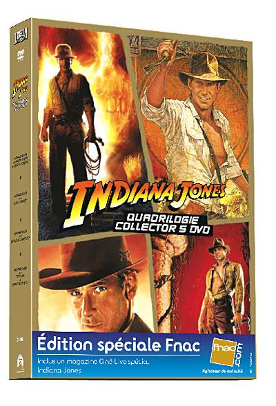 Saga  INDIANA JONES 1, 2, 3, 4