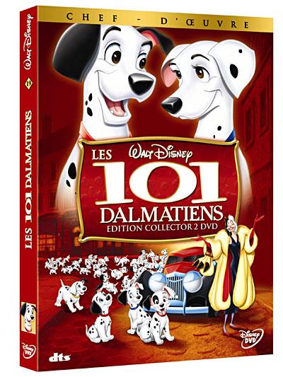 Les 101 Dalmatiens : le prochain chef d'oeuvre en DVD ! 8717418154714