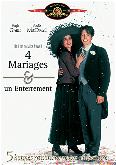 3700259810524 Quatre mariages et un enterrement Film streaming