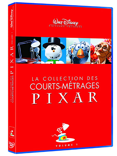 Les court-métrages de Pixar en DVD ! 8717418141844