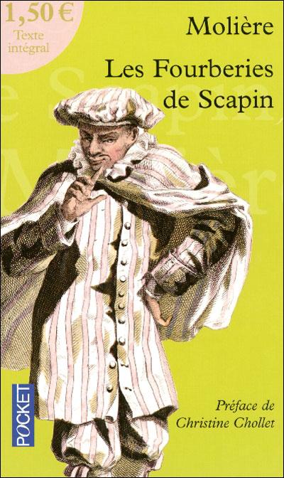 Molière - Les fourberies de Scapin 9782266162364