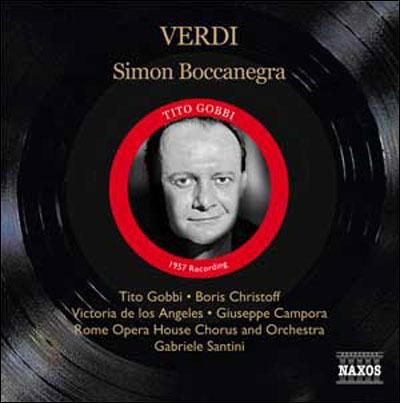 Tito Gobbi Boccanegra Santini Boris Christoff Victoria De Los Angeles