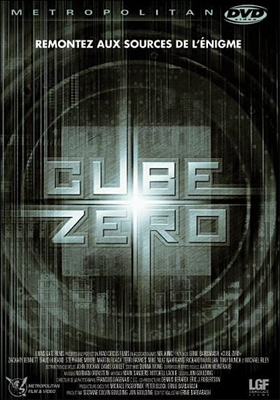Cube 3 : Cube Zero affiche