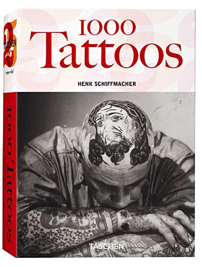 Livre; »1000 Tattoos