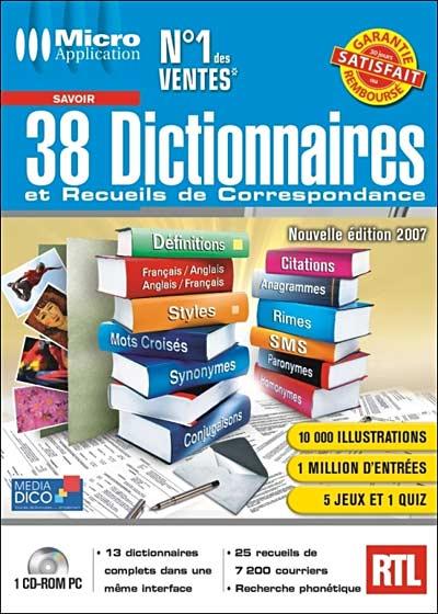 mediadico 38 dictionnaire et recueils de correspondance