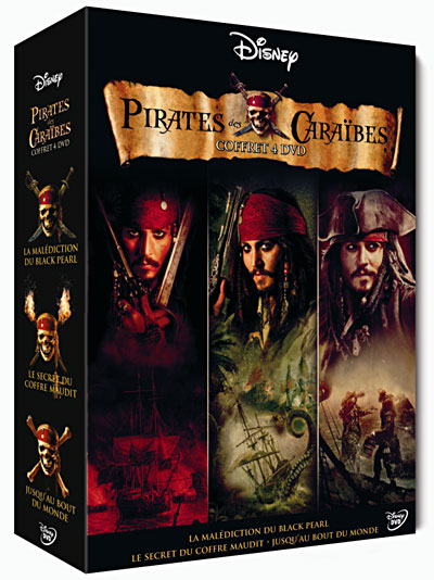 [MU] Pirates des Cara??bes - Coffret de la Trilogie en 3 DVD