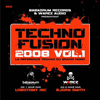 Techno fusion 2008 / vol.1 (Super Jewel box)