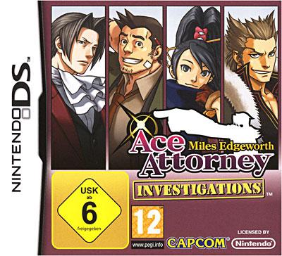 Test de Rixak 1: Ace attorney Investigations Miles Edgeworth 5055060942208