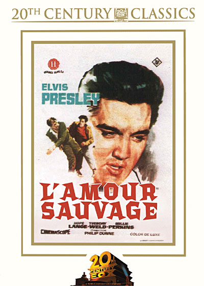 Amour sauvage affiche